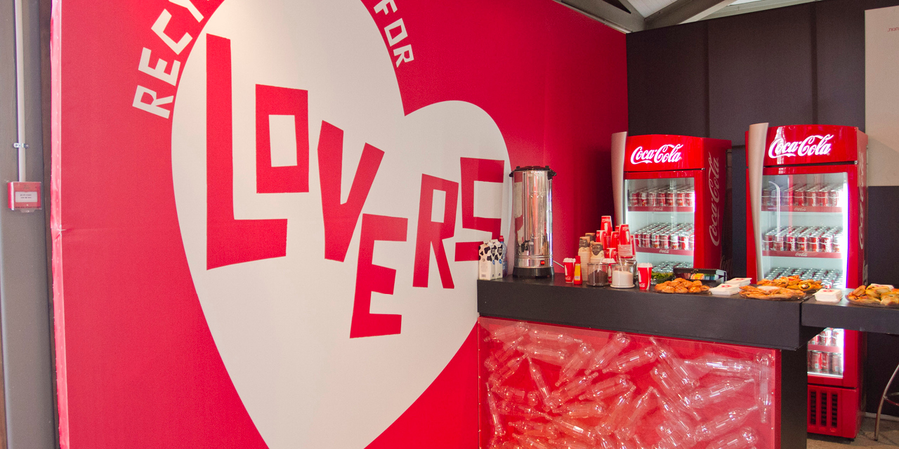 חנות המיחזור של קוקה קולה2