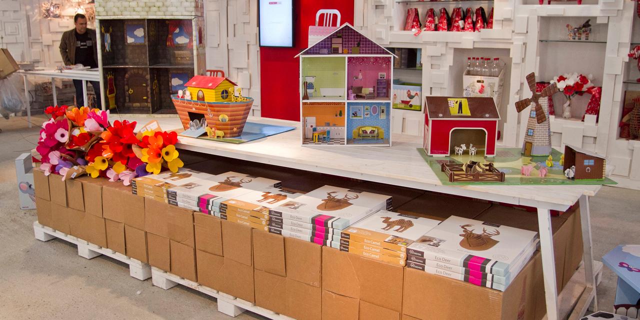 חנות המיחזור של קוקה קולה4